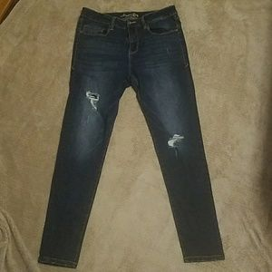 American rag high ish wasted jeans